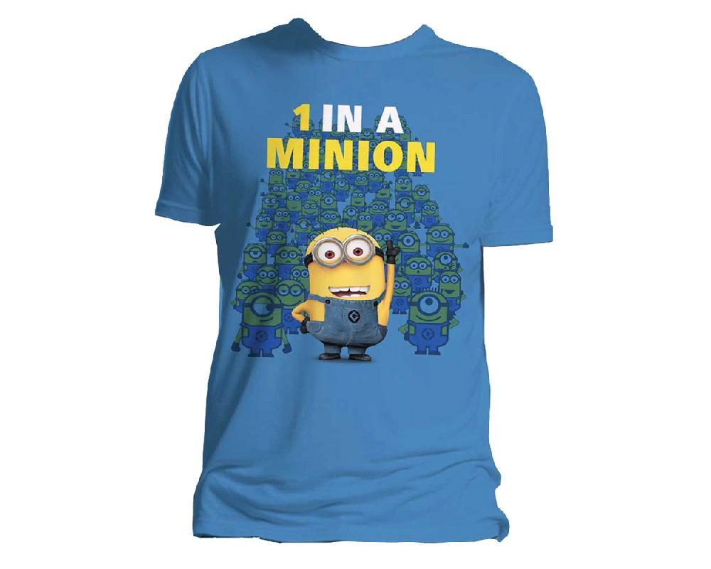 One in a minion t shirt - Minions wandtattoo ...