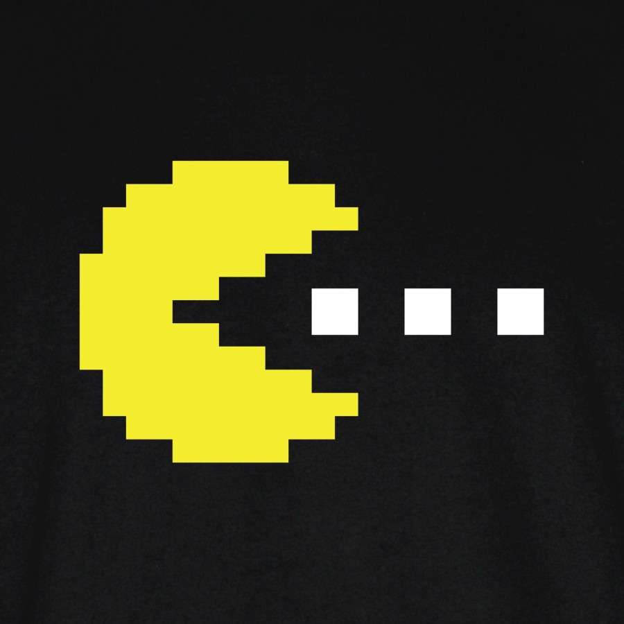 8 Bit Pacman Blue Ghost The Image Kid